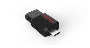 SanDisk's First Dual USB Drive