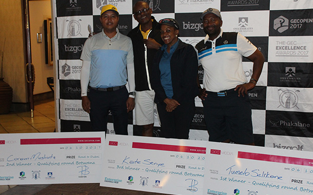 Top corporates get together for GEC Open debut in Botswana