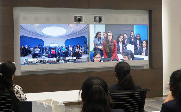 Cisco Inspires the Next-Generation of Women
