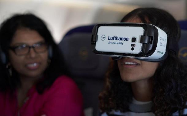 Dubai-bound Passengers experience Lufthansa's new In-flight VR prototype