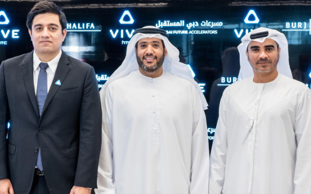 Burj Khalifa, HTC Vive, and Dubai Future Accelerators Collaborate