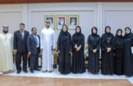 DED-Ajman Receives Government Delegation from Sharjah