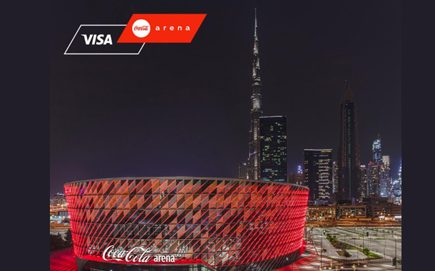 Visa Named Founding & Official Payment Partner for Coca-Cola Arena