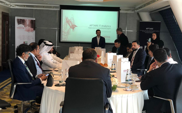 Veritas Aptare breakfast briefing series kicks off in Dubai