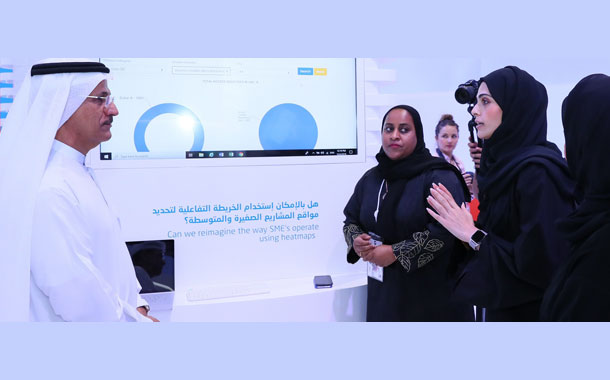Ministry of Economy Launces 'Business Map' at Gitex 2019
