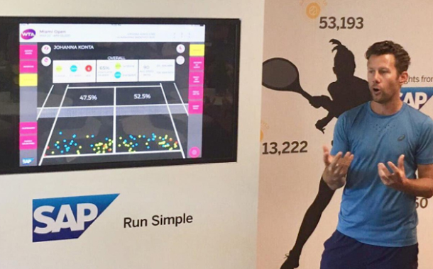 SAP and WTA Launch New Patterns of Play Feature for SAP Tennis Analytics for Coaches