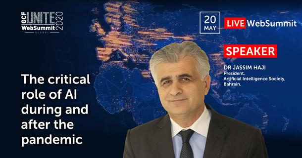 Dr Jassim Haji, President AI Society Bahrain