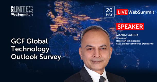 Manoj Saxena, Chairman, RosettaNet Singapore