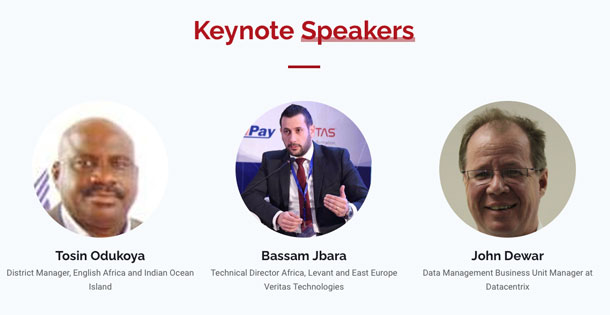 The keynote speakers for the Enterprise Data Services Platform in Telecommunications WebSummit