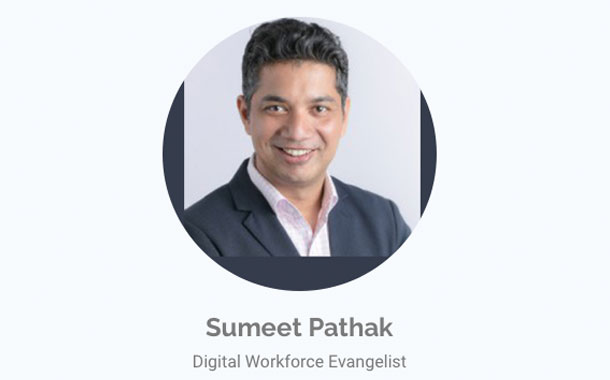 The keynote speaker for the Powering Finance in Healthcare with Intelligent Automation WebSummit was Sumeet Pathak, Digital Workforce Evangelist, IMEA at Automation Anywhere.