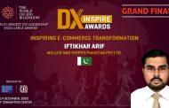 Two Pakistanis win Inspiring Business Transformation award at World CIO 200 summit