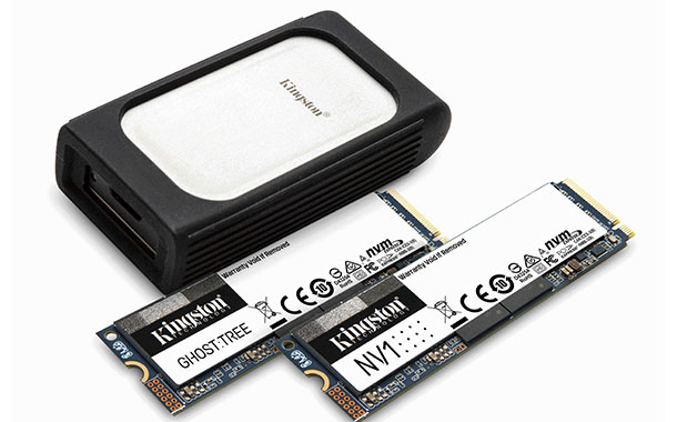 Kingston previews new NVMe SSD lineup at CES 2021