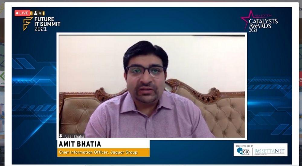Amit Bhatia of Jaquar Group