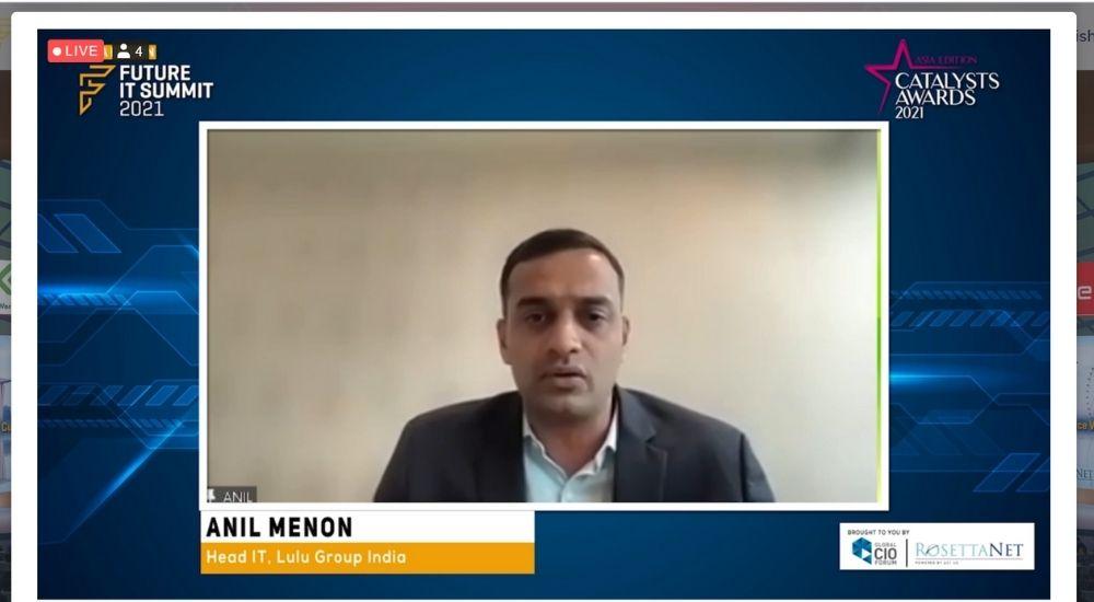 Anil Menon of Lulu Group India