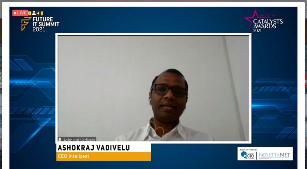 Ashokraj Vadivelu of Intelizest