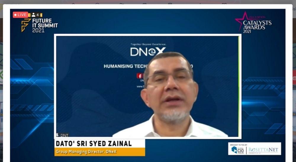 Dato' Sri Syed Zainal Abidin Syed Mohamed Tahir of DNeX