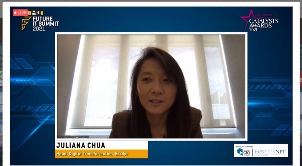 Juliana Chua of Essilor Group