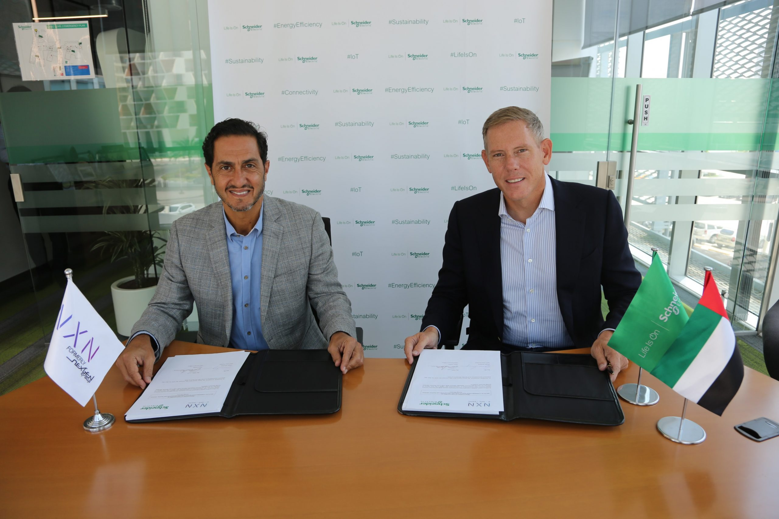 Schneider Electric and NXN partner to deliver advanced solutions for Gulf's smart city initiatives