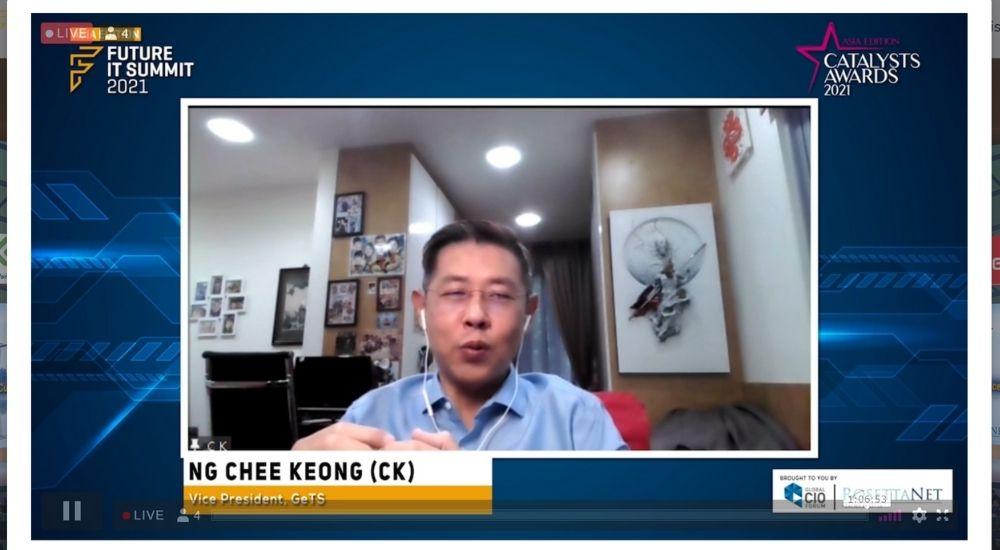 NG Chee Keong (CK) of GeTS