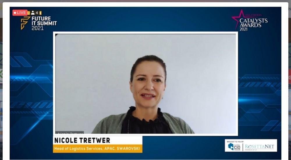 Nicole Tretwer of Swarovski