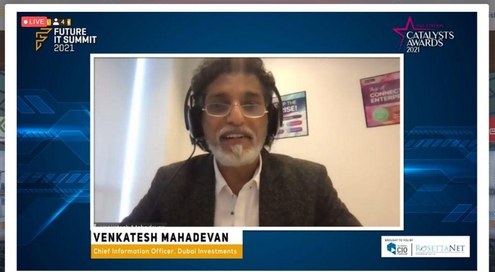 Venkatesh Mahadevan of Dubai Investments