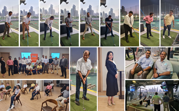 Top UAE CIOs meet for golf and nutrition session at GCF Reboot